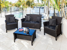 Lavida 3 Piece Lounge with Coffee Table