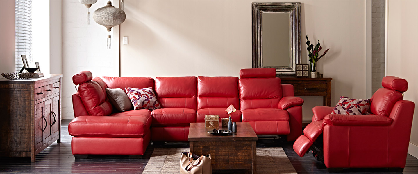 The kruse corner chaise with recliners delivering to wollongong illawarra and souther highlands
