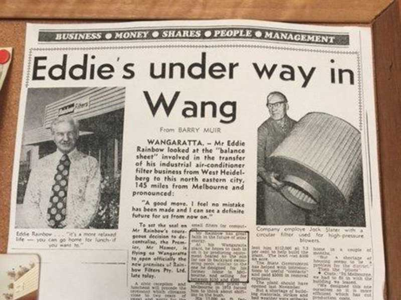 News in The Age on the move to Wangaratta