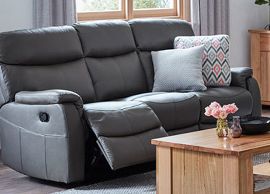 Homemakers Offer An Extensive Range Of Affordable Leather Lounge