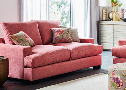 Homemakers Offer An Extensive Range Of Affordable Fabric Lounge