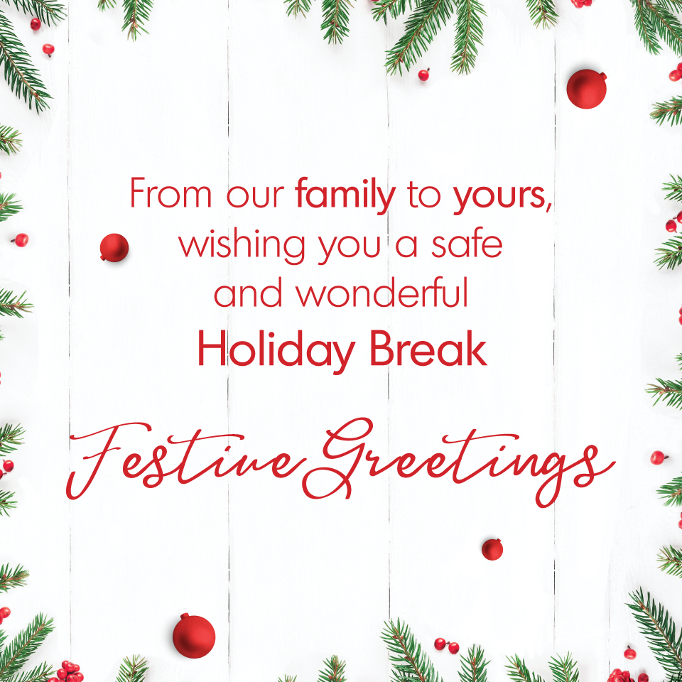 From our family to yours, wishing you a safe and wonderful holiday break from Advantage Pharmacy Group